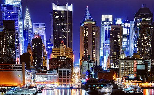 Поиск дешевых авиабилетов в Нью-Йорк, США, купить билеты на самолет в Нью-Йорк